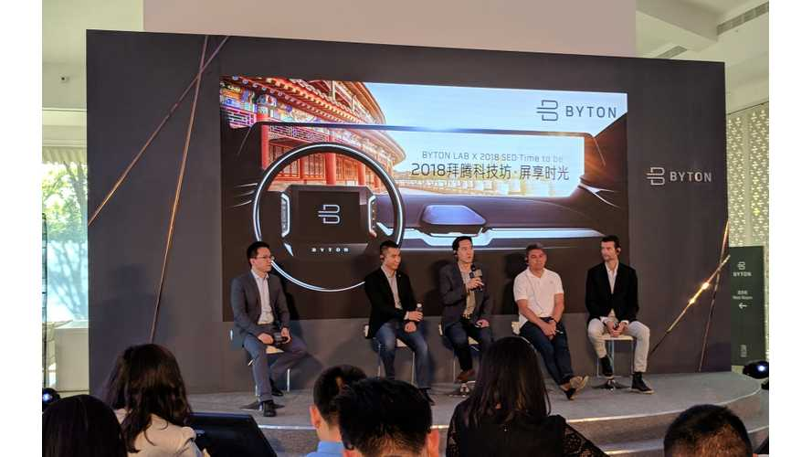 BYTON in Beijing: We Interview Four Of BYTON's Top Executives