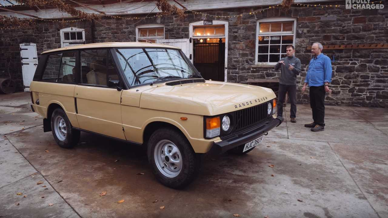 Fully Charged Drives An Electric Range Rover