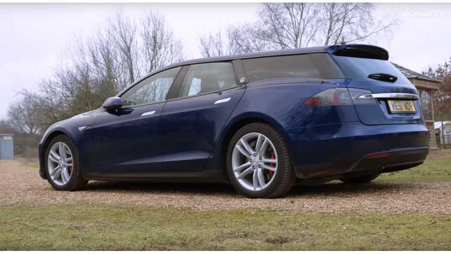 Fully Charged Checks Out Tesla Model S Wagon