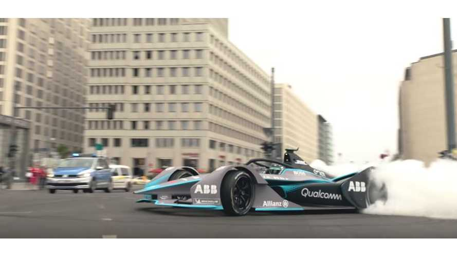 Watch Rosberg Drive Gen 2 Formula E Race Car