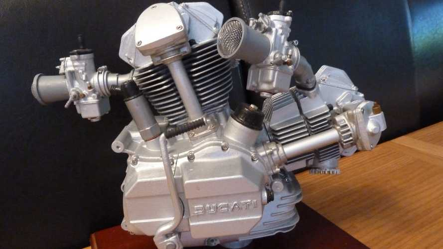 Cute Stuff Alert! A Tiny Ducati Engine.