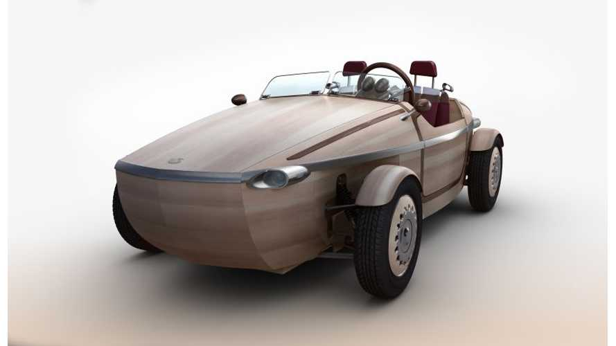 Toyota's Latest Electric Car Is Crafted From Wood