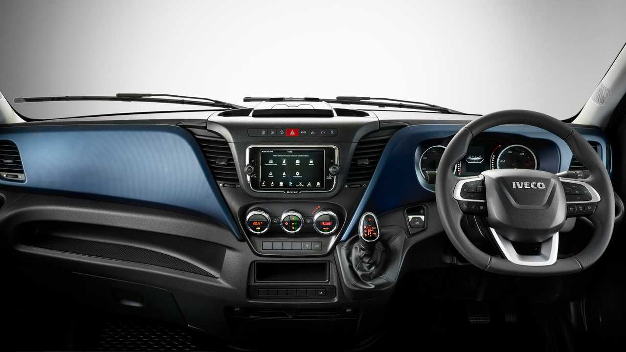 Nuovo Iveco Daily Restyling_Interni