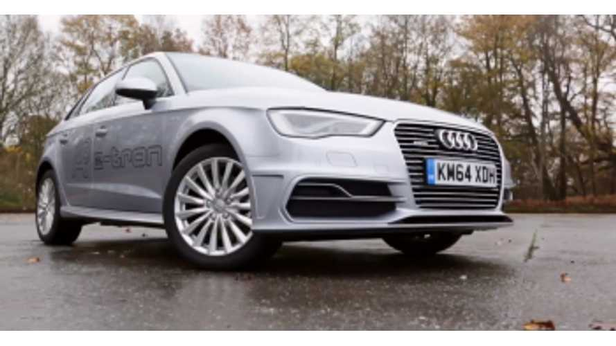 Audi A3 e-tron Named 2015 What Car? Electric Car of the Year - (w/video)