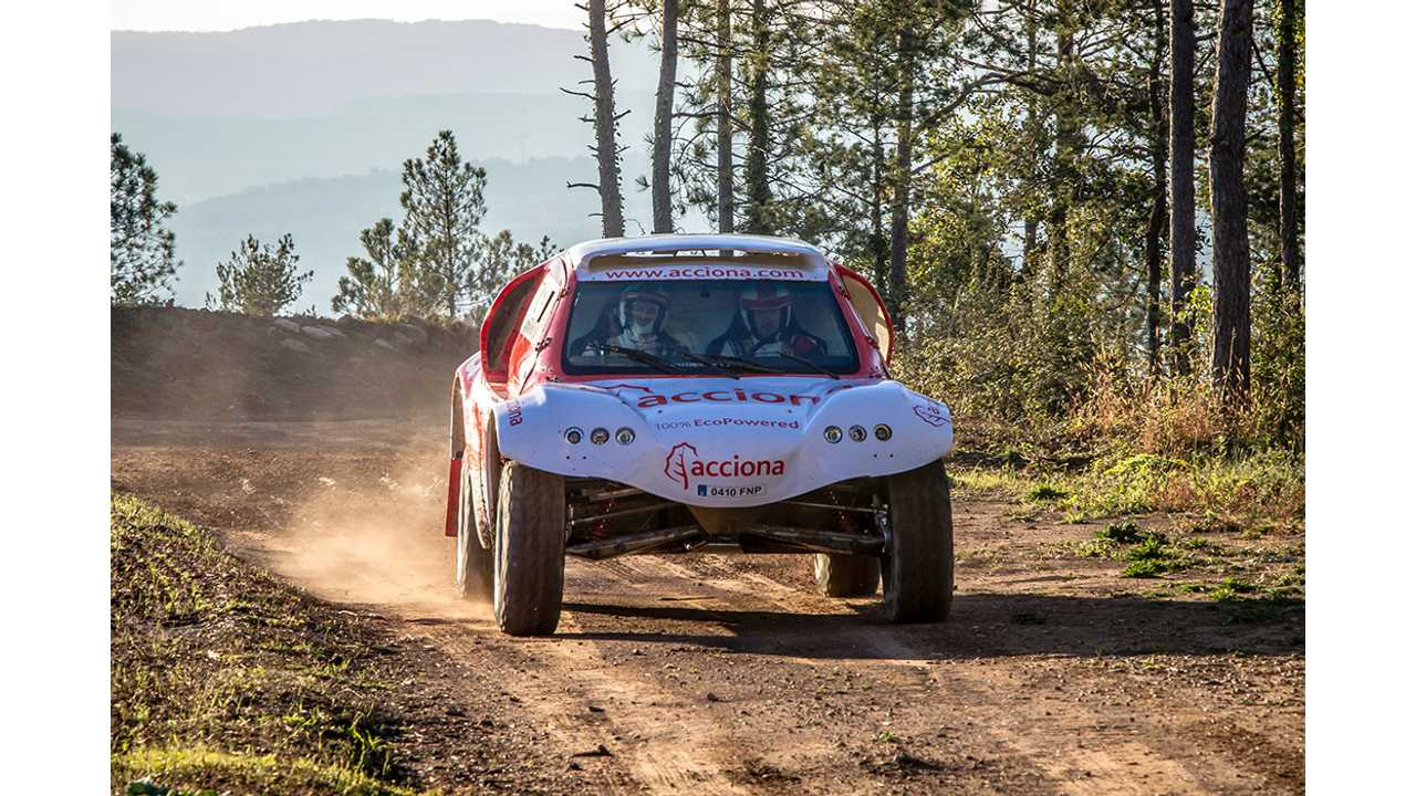 Acciona To Compete In Dakar Rally With 140 kWh Battery-Electric Offroader