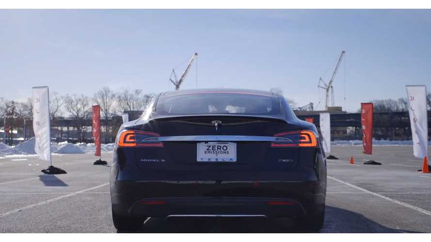 Verge Drives Insane Tesla Model S P85D - Video