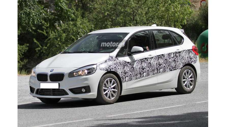 Spied: BMW 2 Series Active Tourer Plug-In Hybrid