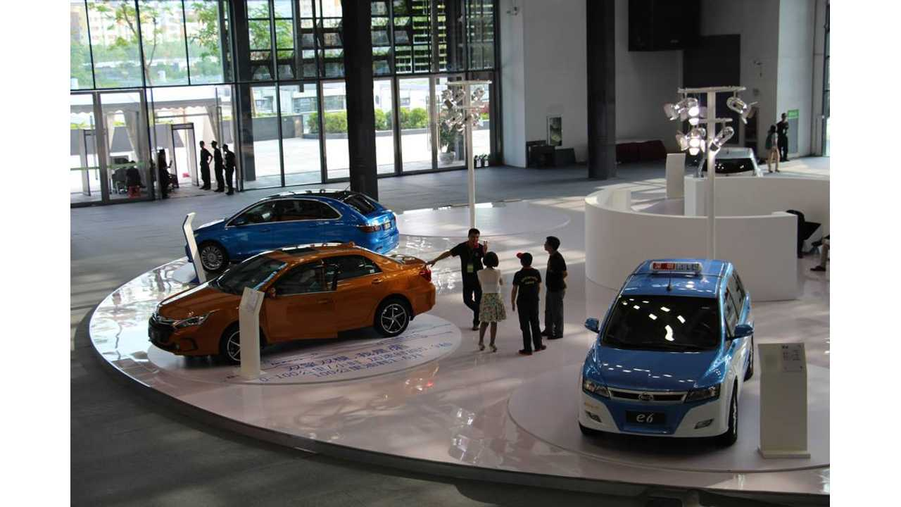 20% Of New Cars Registered In One Chinese City Will Be Electric