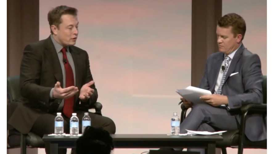Tesla CEO Elon Musk Discusses Electric Cars, Rock Bottom Oil Prices & More - Video