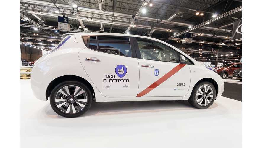 Nissan LEAF Taxis On The Rise In Europe