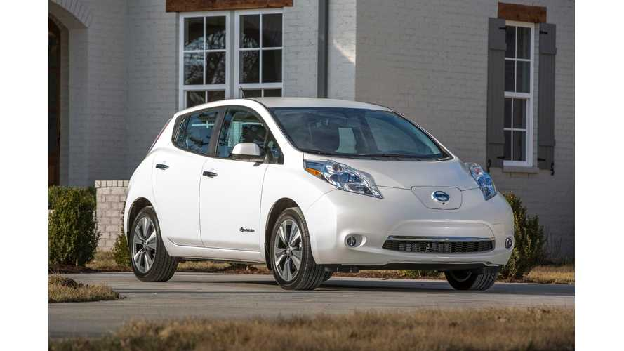 Plug-In Electric Car Sales Canada April 2015