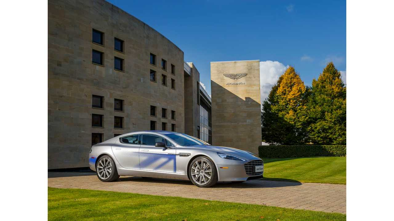 Aston Martin Signs Deal With LeTV