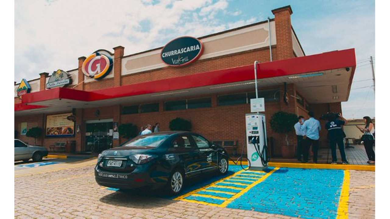 Brazil Got Its First Multi-Standard DC Fast Charger