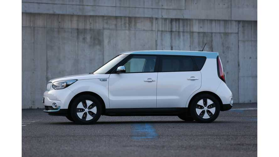 Kia Soul EV Nabs Canadian Green Car Of The Year Award