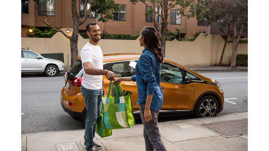Chevy Bolt Is Maven's #1 Car-Sharing Choice