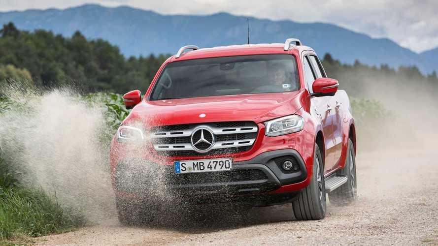 Mercedes-Benz, addio alla Classe X