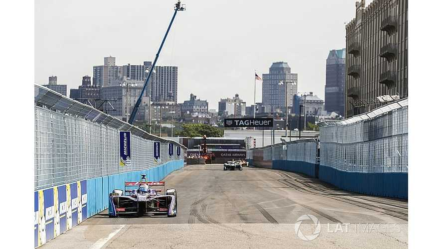 Formula E Brooklyn Race One - Bird Beats Vergne