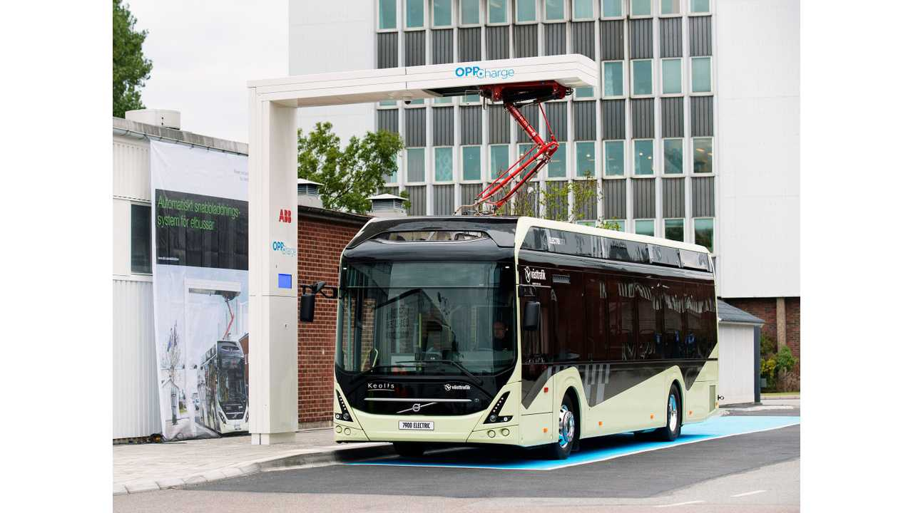 The charging station has been installed next to Volvo's electric bus depot in Arendal, and it is a joint reference project for ABB and Volvo