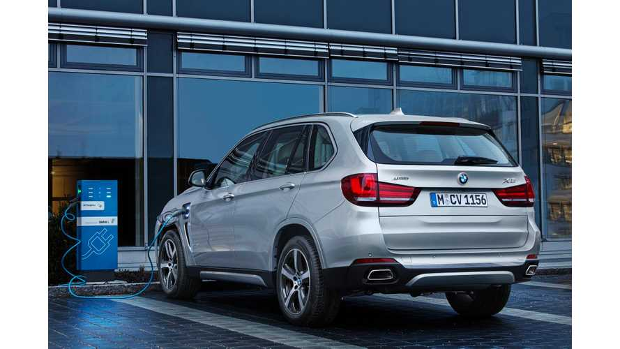 June: Plug-Ins Account For 4% Of BMW Sales In Western Europe, 4.8% in US