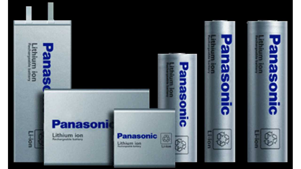Panasonic lithium-ion battery cells