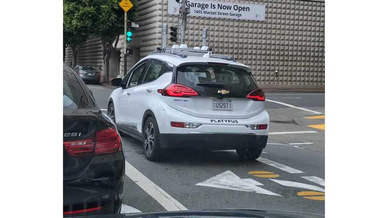 Chevrolet Bolt EV Out Autonomously