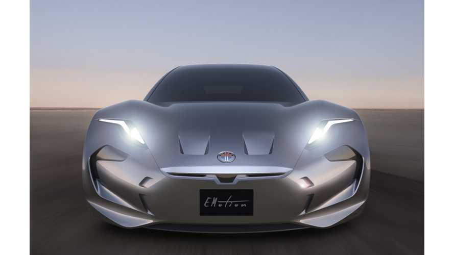Henrik Fisker Fully Reveals eMotion Electric Car