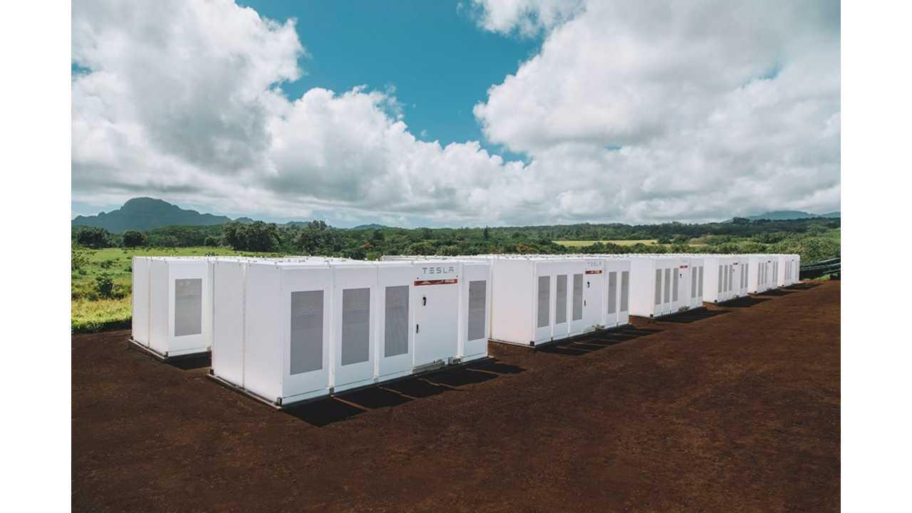 52 MWh Tesla ESS delivered for Kauai Island Utility Cooperative