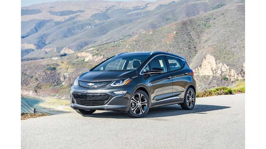 In First 3 Months Of 2017, Chevrolet Bolt Sales Reached 2,735 In California