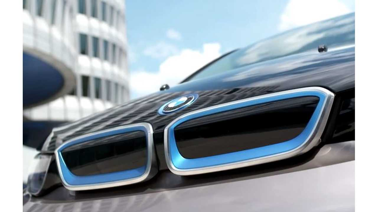 Kelley Blue Book Announces Best Green Cars For Earth Day - BMW i3 Declared Winner