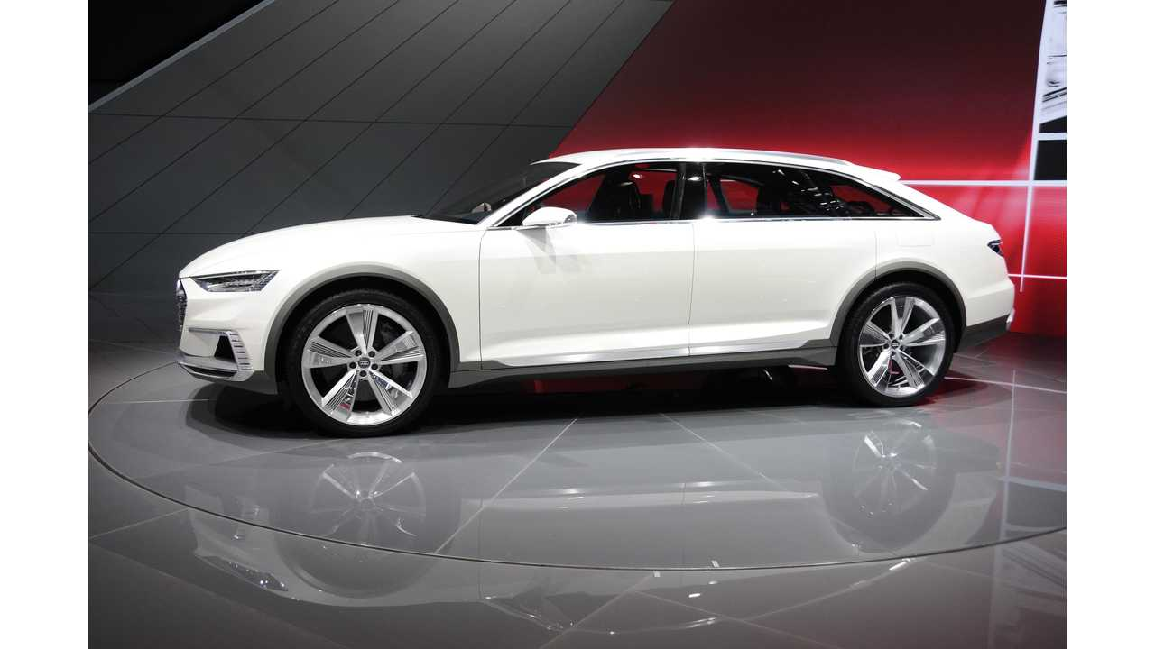 Audi Prologue Allroad At 2015 Auto Shanghai – Photos & Videos