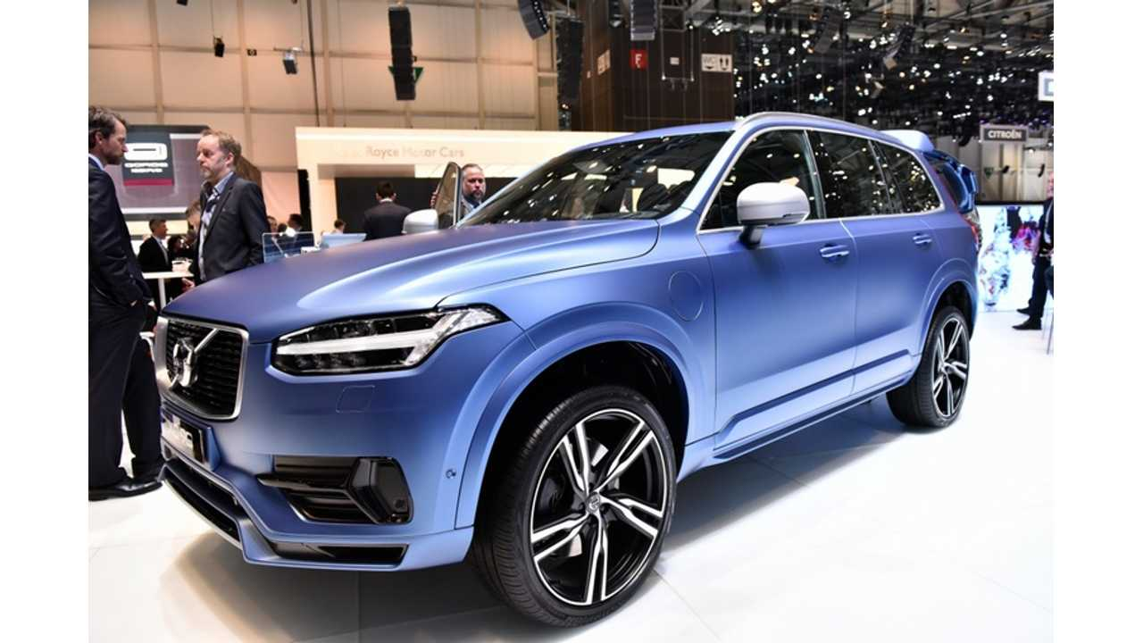 Volvo Prices Xc90 T8 Twin Engine In Us From 68 100 Deliveries This Fall