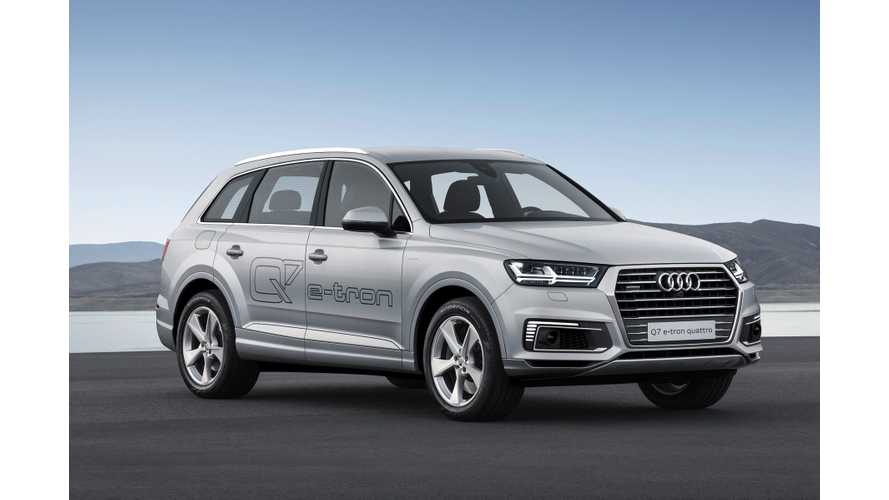 Audi Releases Details On Gas Extended Version Of Q7 e-tron PHEV
