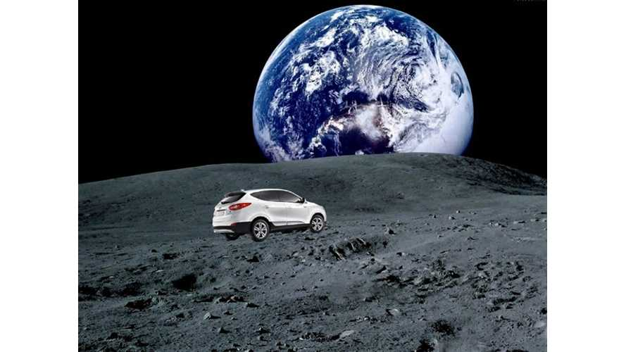 Hyundai Tucson Fuel Cell Accumulates Enough Miles On The Road To Reach The Moon