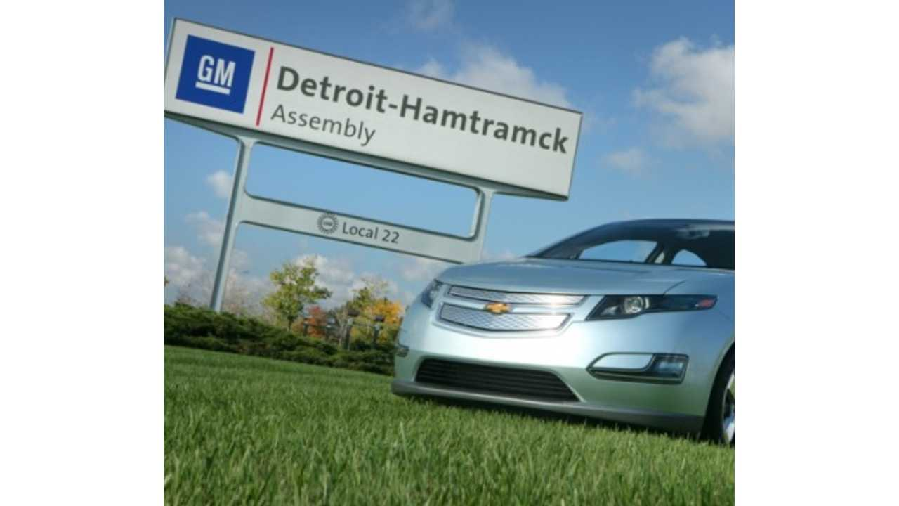 GM To End Current Production Chevrolet Volt In May - As Planned