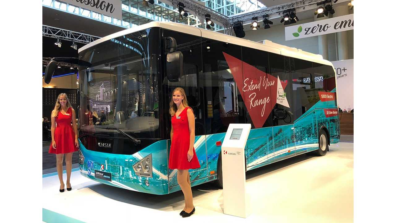 Karsan Announces Atak Electric Bus With BMW i3 Batteries