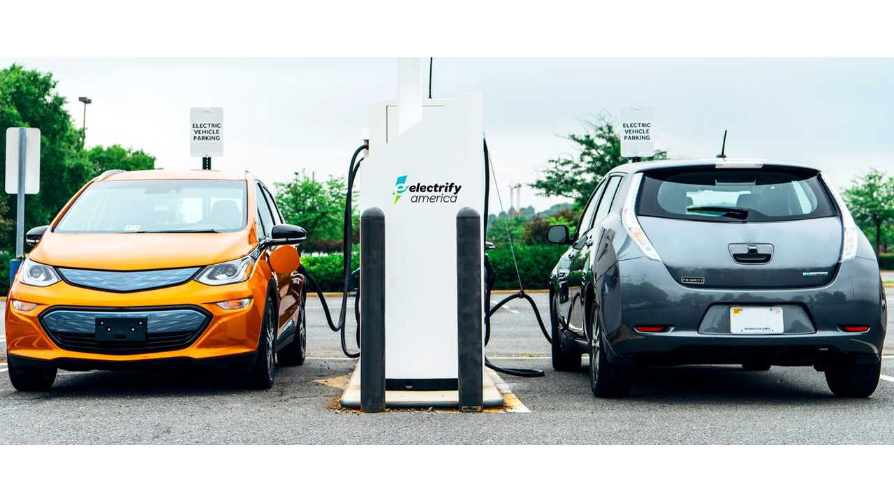 Electrify America Launches California's First 350 kW Charging Stations