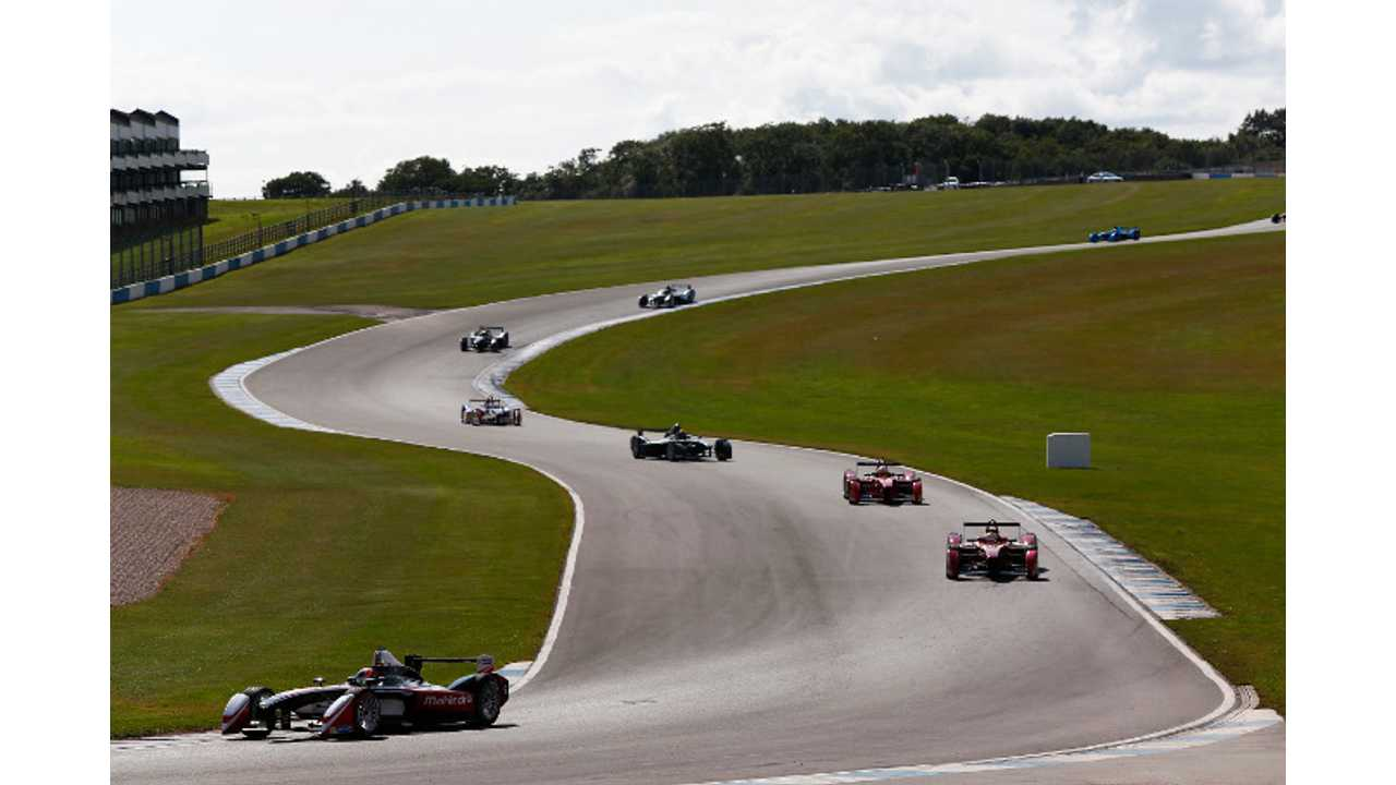 Formula E Completes Successful Race Demonstration - Video