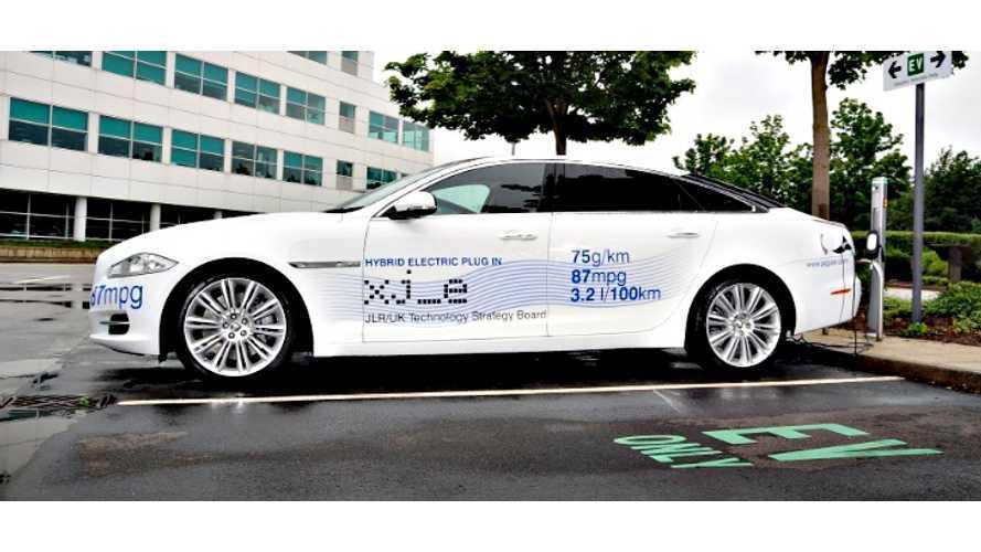 Jaguar-Land Rover On BEVs, PHEVs
