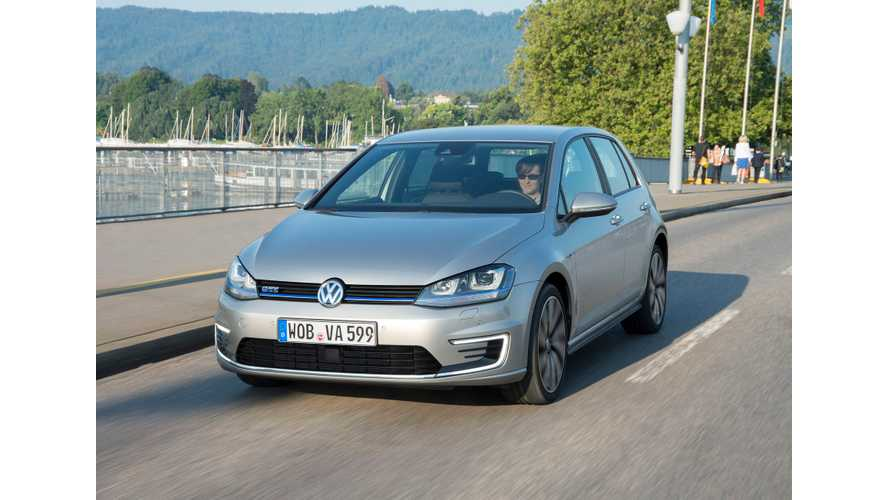 Volkswagen Golf GTE First Drive Review From UK