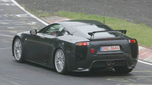 Lexus LF-A prototype on Nurburgring