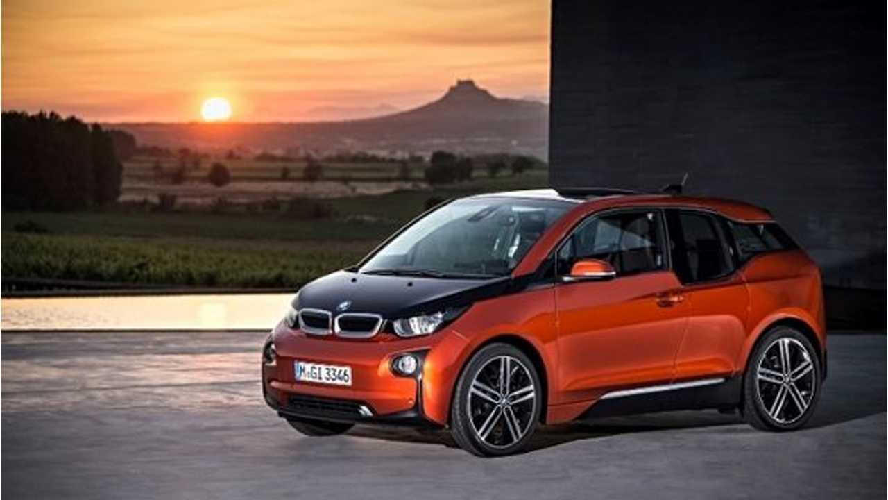 I Expect To Take Delivery Of My Solar Orange BMW i3 REx Sometime This Week