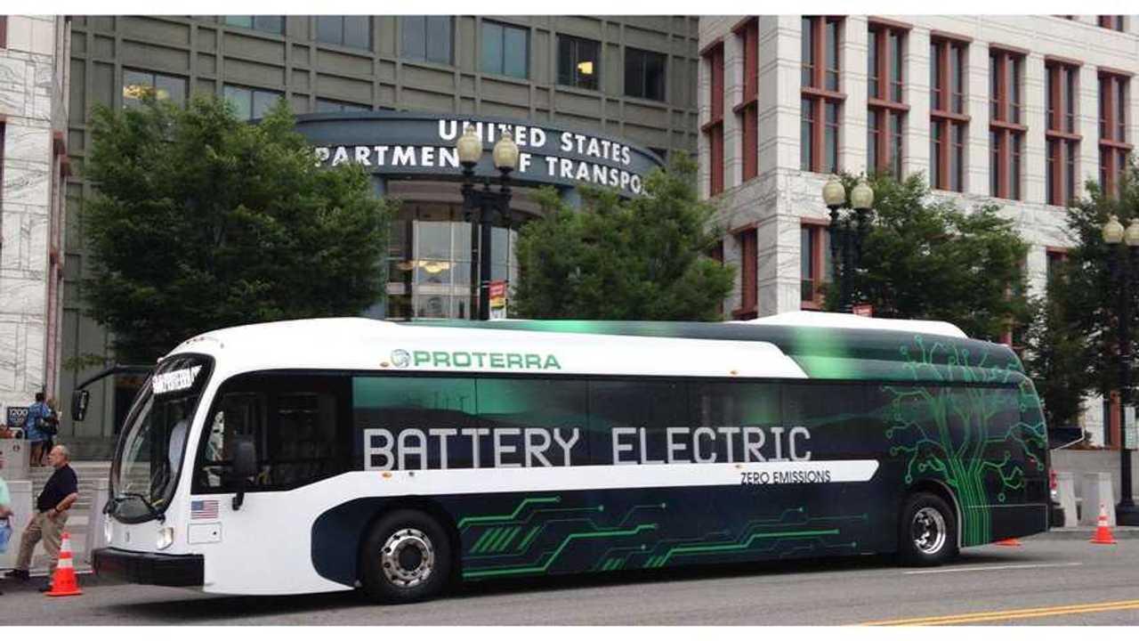 Green-White Next Generation 40' Proterra Bus (w/video)