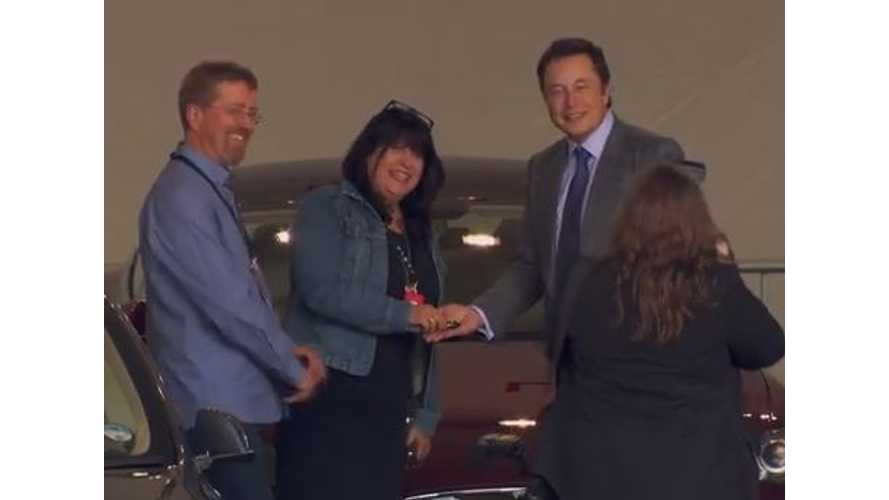 Official Tesla Video Of First RHD Model S Deliveries In UK