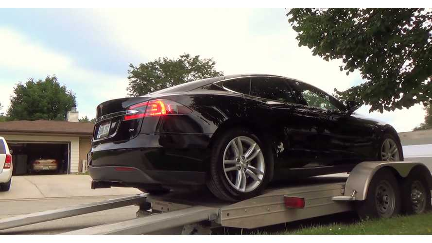 Tesla Model S Battery Failure And Free Replacement Battery - Videos