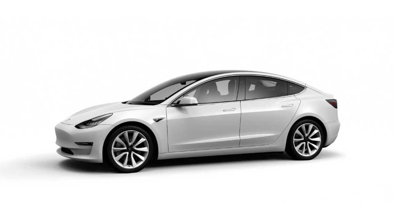Tesla Has Already Produced 550 Standard Model 3