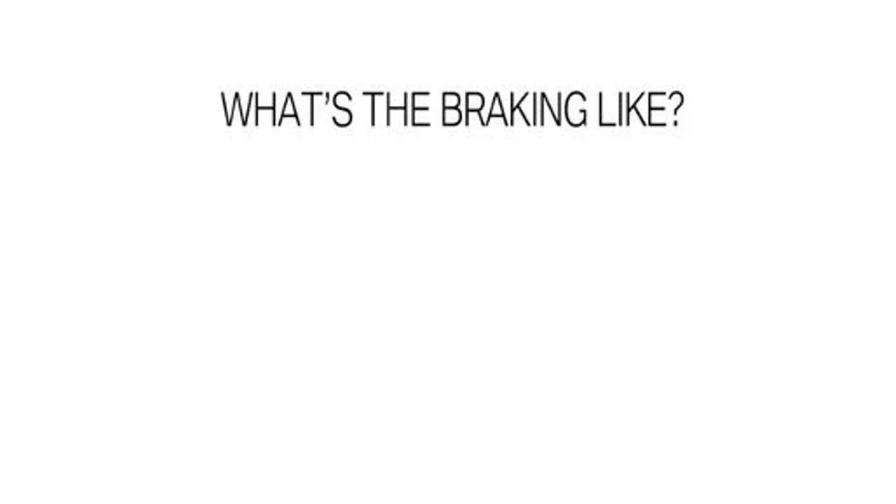 Experiencing Regenerative Braking In The BMW i3 - Video