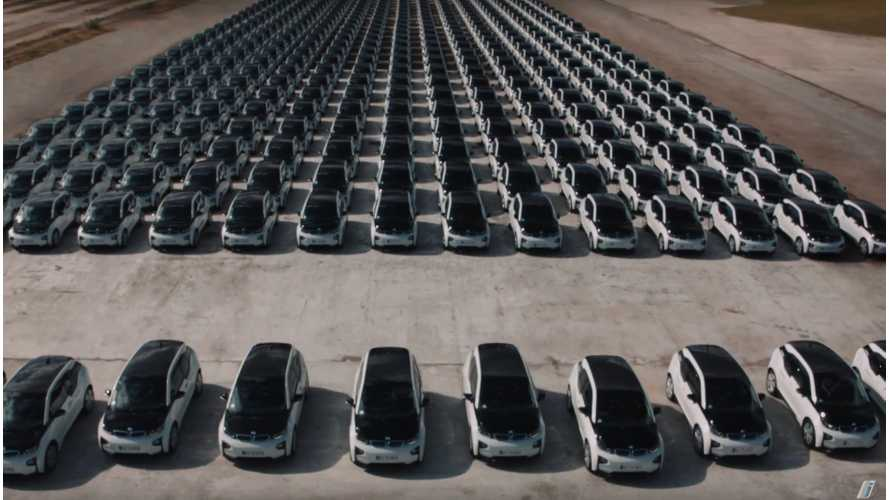 Check Out BMW's Fleet Of 400 DriveNow i3s - Video