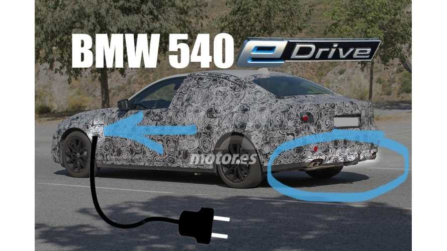 BMW 540e Plug-In Hybrid Expected to Launch In 2017