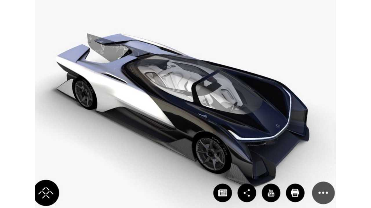 Possible Faraday Future Concept Leaks Ahead Of Tonight's Reveal