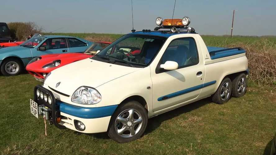 Renault Clio 6x2 pick-up